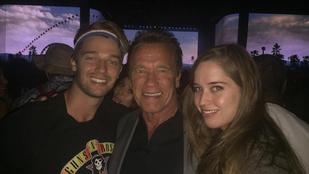 Bud Spencer megdicsérte Arnold Schwarzenegger családját