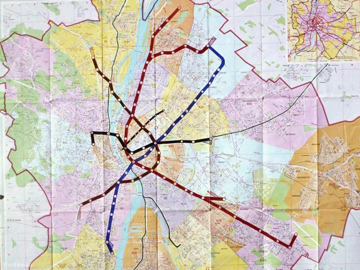 budapest térkép metróvonalakkal Index   Urbanista   Metróval Ferihegyről Rákospalotára? budapest térkép metróvonalakkal