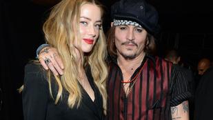 Johnny Depp elszunyókált felesége tárgyalásán