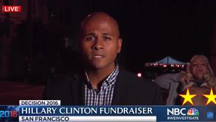 Mellbimbók színesítették az NBC elnökválasztásról szóló tudósítását
