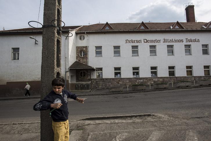 A gyöngyöspatai általános iskola épülete. A Kúria jogerősen kimondta, hogy az iskolában törvényellenesen szegregálták a roma gyerekeket.