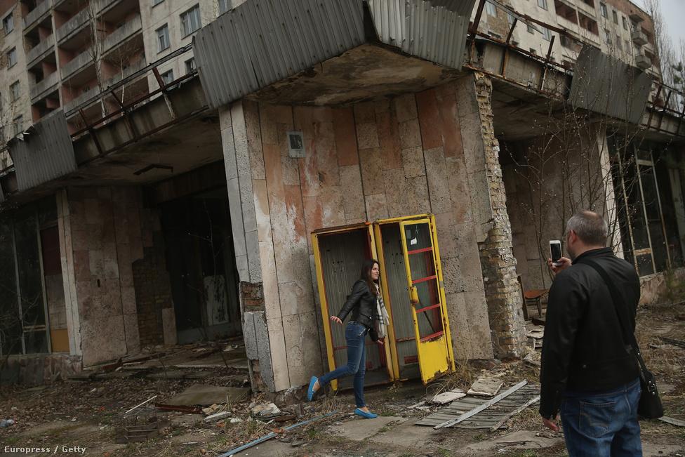 Harminc évvel a katasztrófa után ma már turisták kedvelt helye a város: itt például okostelefonnal fotóznak egy korabeli, elhagyott üzletet. A 1970-es években épített szovjet modellváros magasházai, kórházai, iskolái, éttermei, kulturális és sportközpontjai ennek a kornak a lenyomatát őrzik. A turistákat manapság kis csoportokban engedik az omlásveszélyes épületek közelébe.