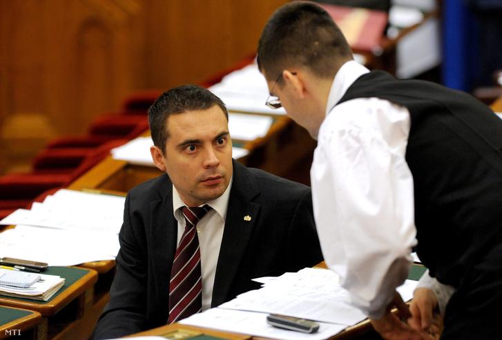 Vona Gábor és Novák Előd