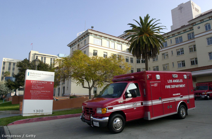A Los Angeles-i Hollywood Presbyterian Medical Center