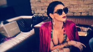 Kulcsár Edina ezen a képen úgy néz ki, mint Rihanna