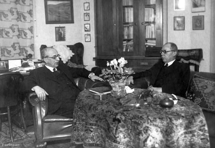 Ravasz László és Makkai Sándor református püspökök