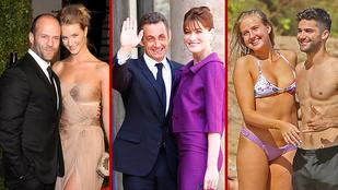 12 híres pár, ahol a nő a magasabb