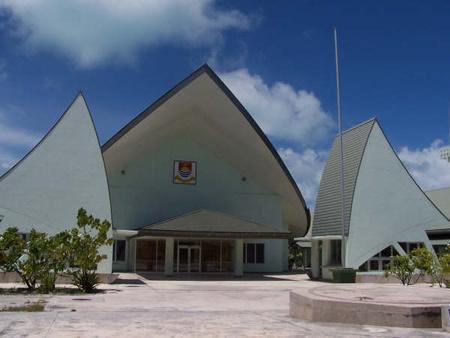 Kiribati parlamentje