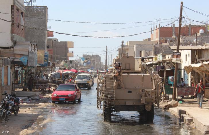 Szaudi csapatszállító a hétvégi akcióban