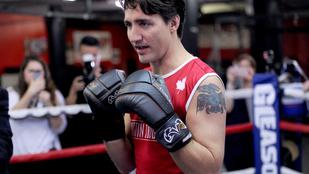 Már nehezen kezeljük Justin Trudeau tökéletességét