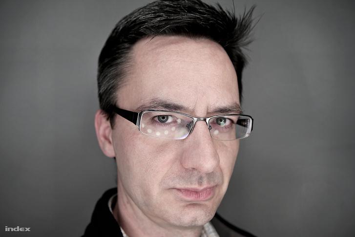 Joób Sándor 2014-es, indexes profilképe.