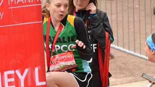 Natalie Dormer még maraton közben is egy dög
