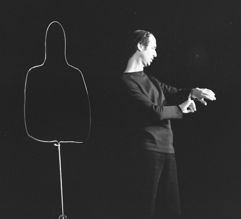 1972: Sándor György.                          Sándor György Nézeteltérítések címmel tartott önálló estet a Színpadon.