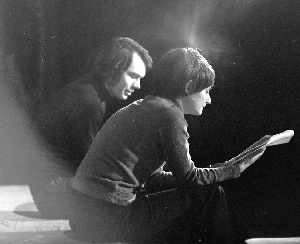 1974: Sólyom Kati és Sipeki Tibor.