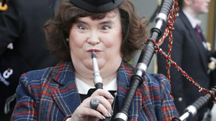 Susan Boyle a Heathrow-n balhézott