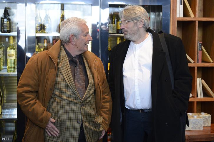 Kiss László egykori és Hargitay András jelenlegi szövetségi kapitány.