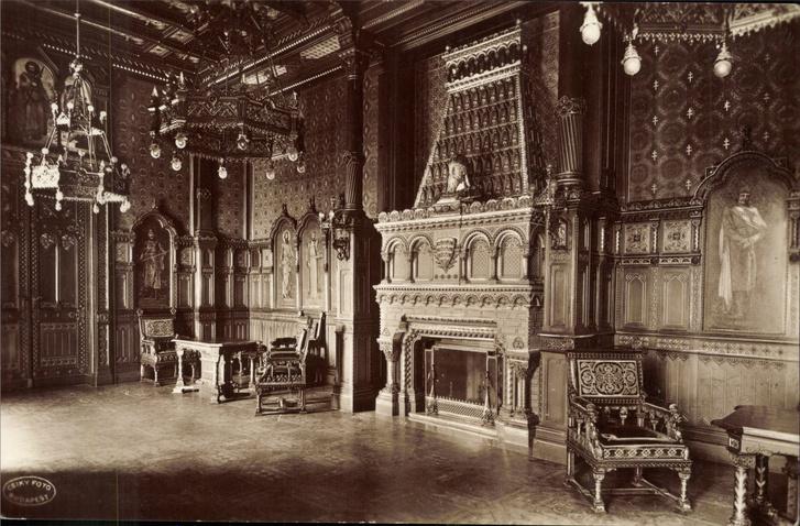 palota belso E F55 szt istvan terem kepeslap