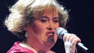 A kórházban kötött ki repteres balhéja után Susan Boyle
