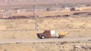 Szíriában bizony Mad Max-stílusban is tolják