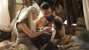 Szerelem! Khal Drogo Instagramon üzent volt asszonyának