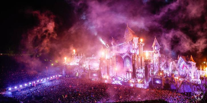 Buli a Tomorrowland Fesztiválon