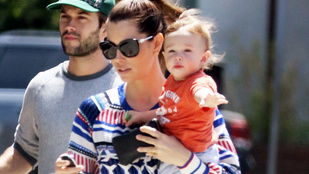 Mennyit nőtt egy év alatt Justin Timberlake fia!