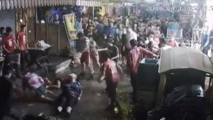Ájultra vertek egy brit családot Thaiföldön, mert külföldiek voltak