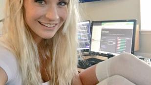 Óvatlan lábmozdulattal szenvedett villantásos balesetet a videojátékos lány