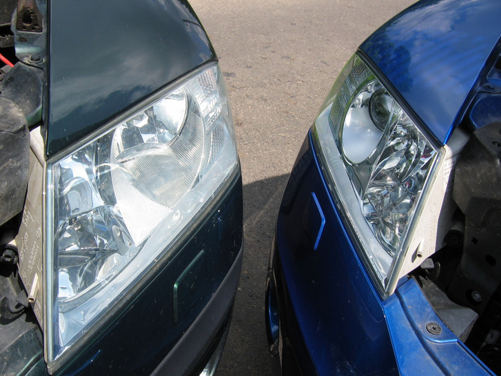 Autó led lámpa szerelés