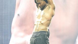 Usher egy kétségbeesett emojival takarja férfiasságát