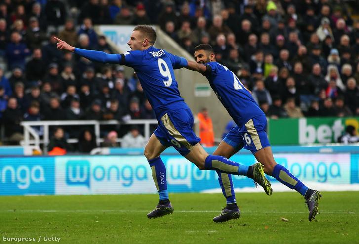 Vardy Mahrez lettek a Leicester legnagyobb sztárjai