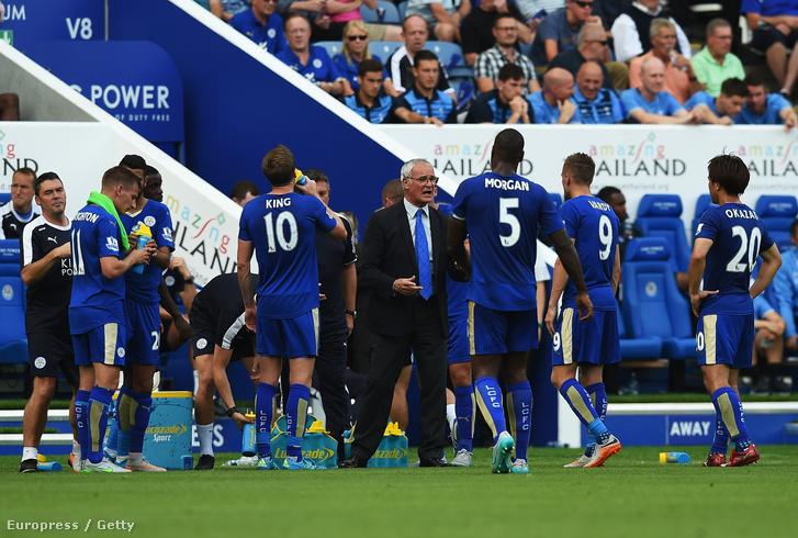 Ekkora sikerre talán még Ranieri sem gondolt