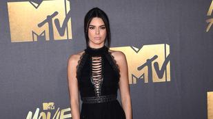 Testvére posztolta Kendall Jenner mellbimbóit