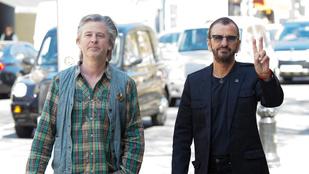 Ringo Starr fia idősebbnek néz ki, mint 75 éves apja