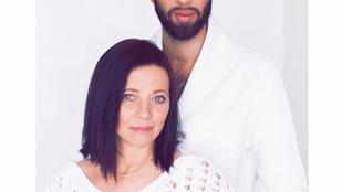 Ez a szép nő nem Varga Viktor új csaja, hanem az anyja!