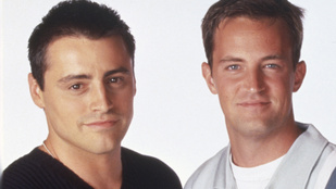 Kicsit megváltozott Joey és Chandler az évek alatt
