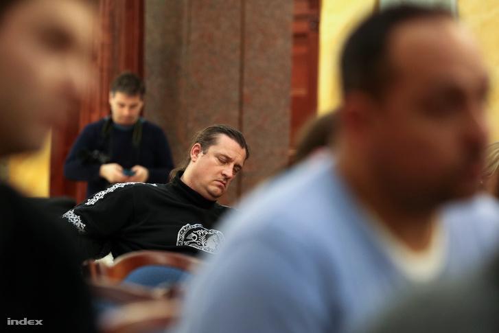 Budaházy György egy korábbi tárgyaláson