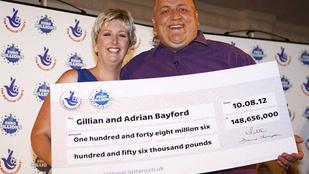 58 milliárdot nyert a lottón, de most már bánja