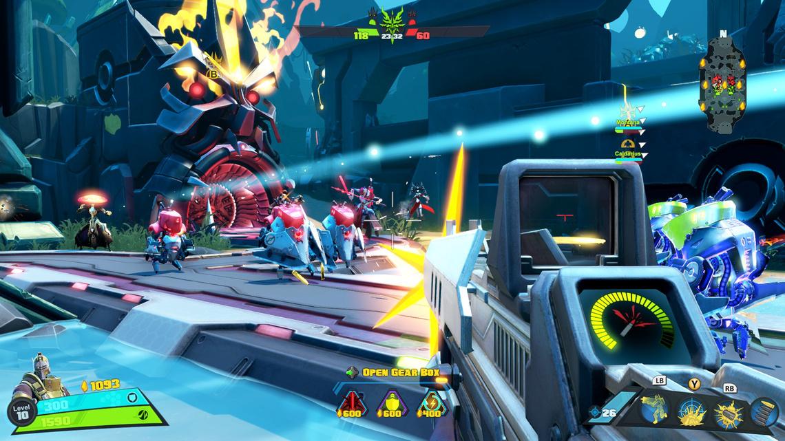 2K Battleborn Paradise Meltdown OscarMike