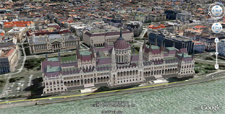 A Parlament a Virtual Hungary műve