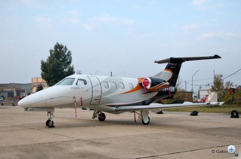 Az első brazil Phenom 100, ami Magyarországon landolt