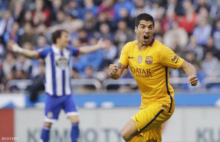 Luis Suarez négyet lőtt a Depornak, majd három nap múlva a Sporting Gijónnak is