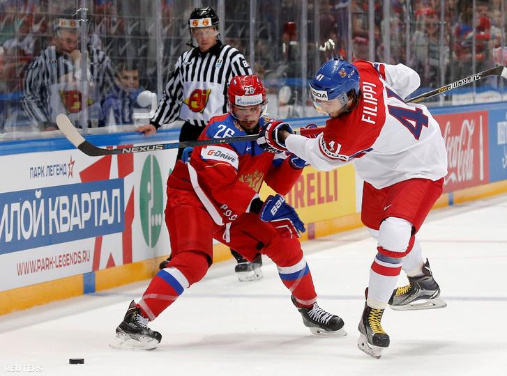 Vyacheslav Voinov és Tomas Filippi.