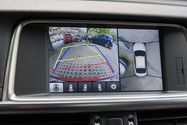 Egy erősen pixeles, de 360 fokos kamerarendszer