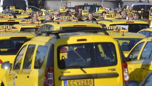 Ne idegeskedjen, úgyis dugó lesz! Itt az új Taxis tüntetés útvonalterve