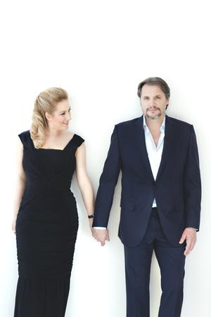 Diana Damrau és Nicolas Testé