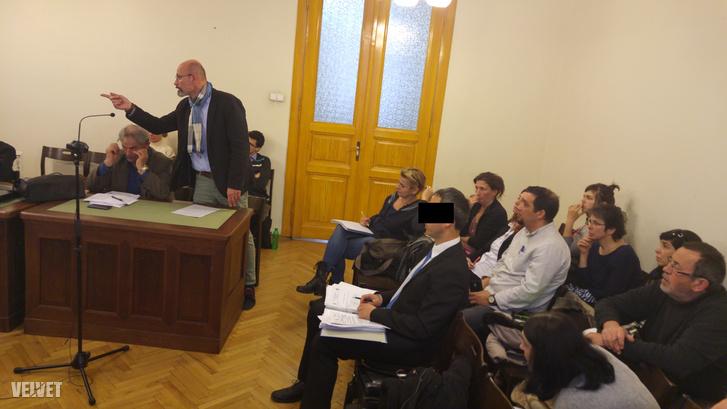 B. Krisztián tárgyalása 2016 március 23-án