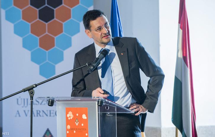 Nagy Gábor Tamás a Budavári Önkormányzat polgármestere