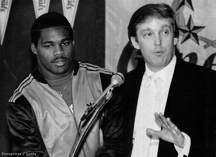 Herschel Walker és Donald Trump