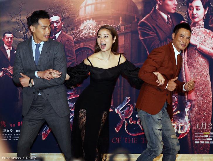 Az Operaház fantomjának premierje Pekingben